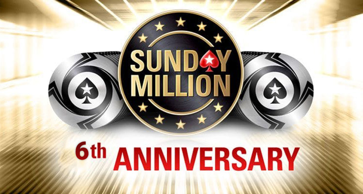 6 лет существования онлайн-турнира Sunday Million на PokerStars.
