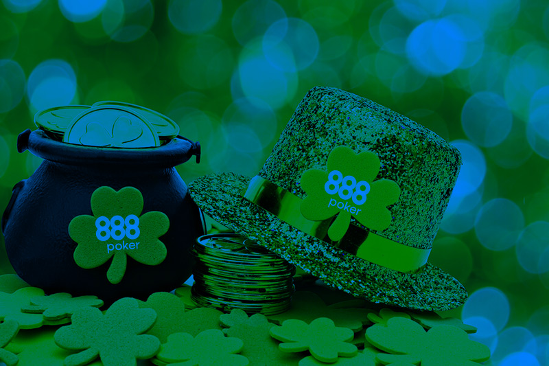 """Страховка от баббла"" и День святого Патрика на 888poker."