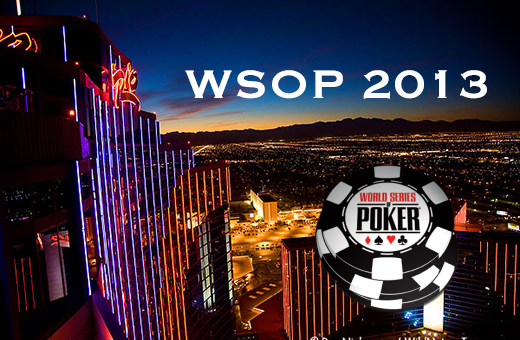World Series of Poker 2013 money poker
