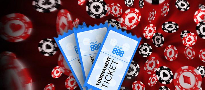 билеты на фрироллы от рума 888poker.