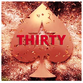 Промо-код THIRTY от рума PokerStars.