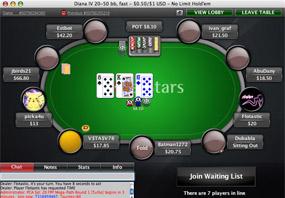 Игра на деньги на PokerStars