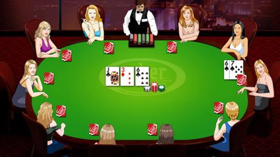 Покер на виртуальные деньги